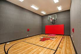 home gym lighting. chicago home indoor basketball gym contemporary with ceiling lights tapestries carpet walls lighting u