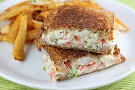 crab grilled cheese recipe chef