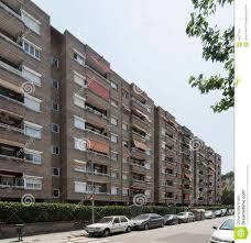 Modern Barcelona Apartment Building Facade Stock Photo Image - Modern apartment building facade