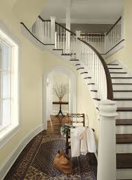 paint colors for hallwaysYellow Entryway Ideas  Light  Airy Formal Entry  Paint Color