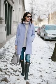 jcrew co coat purple