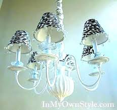 chandelier table lamp shades mini chandelier table lamp small s tadpoles in white diamond shades with