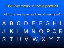 Lines Of Symmetry Powerpoint Lines Of Symmetry For The Alphabet Wiring Diagrams