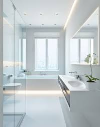 lighting schemes. White Modern Bathroom 8 Exclusive Design Three Apartments With Extra Special Lighting Schemes. BathroomWhite Schemes