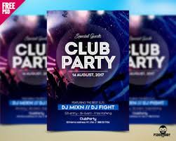 club flyer templates download free psd flyer for club party psddaddy com