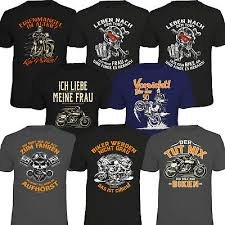 Fun Shirts T Shirt Bike Motorrad Coole Lustige Sprüche Chopper Biker