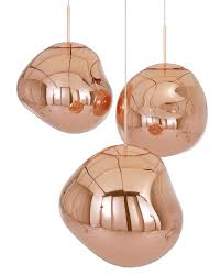 copper pendant lighting. Melt Copper Pendant Light Lighting