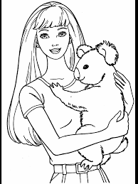 718x957 coloring pages dazzling barbie coloring sheets books az pages