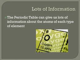 """Basic Structure.  The Periodic Table has 7 rows called """"Periods ..."""