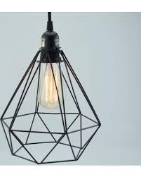 cage lighting pendants. geometric diamond vintage edison light bulb cage for pendant lights lighting pendants l