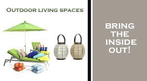 living spaces outdoor furniture patio furniture decor umbrella and lanterns outdoor living spaces living spaces outdoor