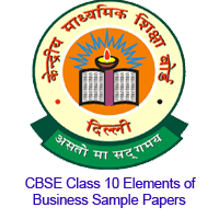 cbse class elements of business sample papers pdf cbse nic in cbse class 10 elements of business sample papers image