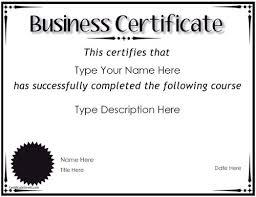Corporate Certificate Template Doc White Business Certificate Template