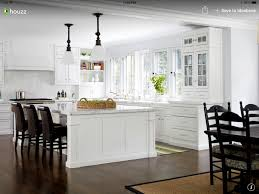 White Cabinets Light Granite Countertops Houzz Kitchen Remodel Houzz