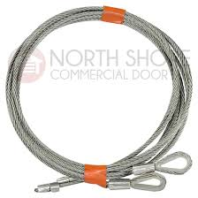 1 8 cable set for 7 high garage door with torsion springs