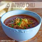 5 minute chili