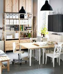 home office decor ideas. Desk Decorating Ideas For Work : Compact Office With Nice Oak Wooden Deck Home Decor