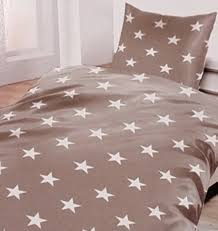 details about flannelette bedding grey with stars 53 1 8x78 11 16in 31 1 2x31 1 2in 100