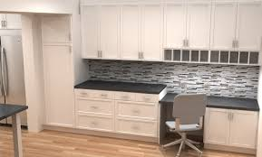 compact office kitchen modern kitchen. Ikea Cabinets Office. Small Kitchen Remodel With Desk Area In White Modern Adel Compact Office A