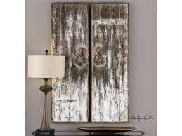 >uttermost alternative wall decor 04143 giles aged wood wall art s 2  uttermost alternative wall decorgiles aged wood wall art s 2