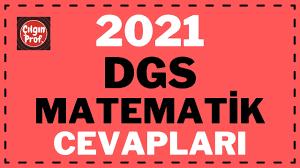 2021 DGS Matematik Cevapları - YouTube