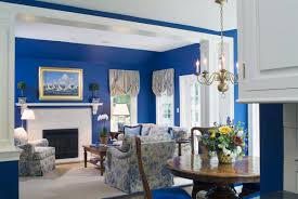 Painting Living Room Blue Using Blue Paint Living Room Youtube