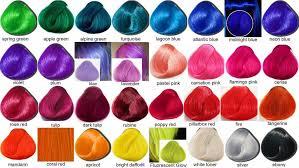 Bright Hair Color Chart Directions Hair Color Chart Lajoshrich Com