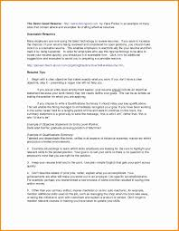 Perfect Resume Examples Inspirational Free Perfect Resume Format S