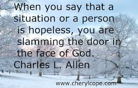 Christian Quotes About Hope Best of Christian Quotes On Hope Part 24 Cheryl Cope
