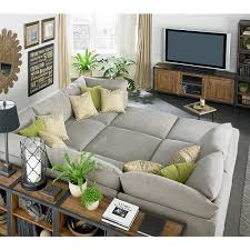 Living Room Sectionals On Beckham Pit Sectional Modular Living Room Furniture Couch And