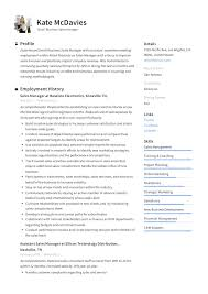 Samples Of Training Manager Resumes Templates Fitness