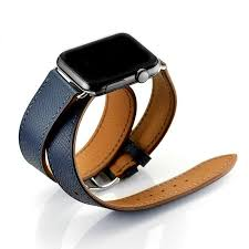 urvoi double tour wraps band for apple watch series 2 strap for iwatch belt for hermes watch genuine leather loop