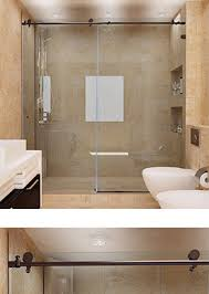 Image Frameless Tempered Metro Sliding Glass Doors For Showers And Bathtubs Dulles Glass And Mirror Custom Sliding Glass Shower Doors Dulles Glass And Mirror
