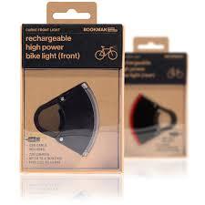 Bookman Rechargeable Lights Curve Light 2 Set Usb Rechargeable Bike Lights Bookman