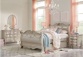 princess bedroom furniture. disney princess silver 5 pc full sleigh bedroom furniture r