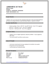 Sample Resume For Bank Jobs For Freshers Fresh Over Cv And Resume ...
