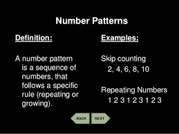 Patterns Definition Simple Patterns Number And Geometric