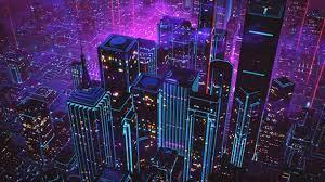 80s Neon City Wallpapers - Top Free 80s ...
