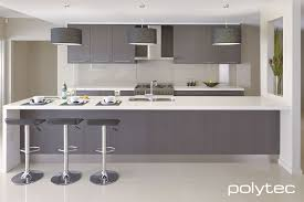 Designer Kitchens Manchester Doors In Thermolaminated 18mm Manchester Grey Oak Natura
