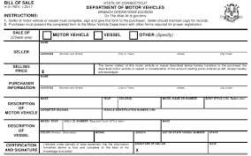 Copy Bill Of Sale Form H 31 Download Printable Pdf Vehicle Boat Bill Of Sale
