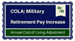 2015 Military Retirement Pay Cola 1 7 Increase