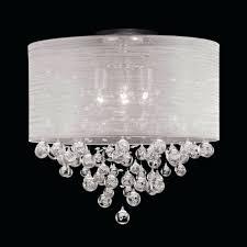 lighting crystal ceiling fan light kit chandeliers chandelier gorgeous deco chrome universal possini euro design