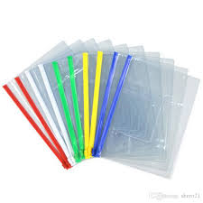 Best New File Bag Stationery Clear Plastic Bag Translucent Folder A4