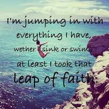 Leap Of Faith Quotes Inspiration Taking Leap Of Faith Quotes The Random Vibez