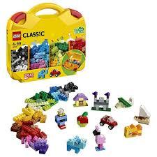 Конструктор <b>LEGO Classic</b> Чемоданчик для творчества и ...