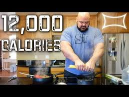World S Strongest Man Diet Chart Worlds Strongest Man Full Day Of Eating 12 000 Calories