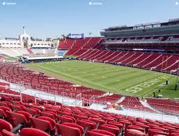 Los Angeles Memorial Coliseum Section 218 A Seat Views