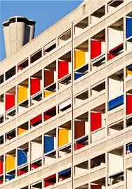 De La Couleur Dans La Ville à La Cité Radieuse De Lecorbusier