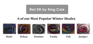 Riot Dk A Soft Light Yarn From King Cole Extraordinary