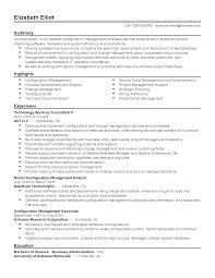 Configuration Management Resume Software Configuration Management Analyst Resume Unique Data 6